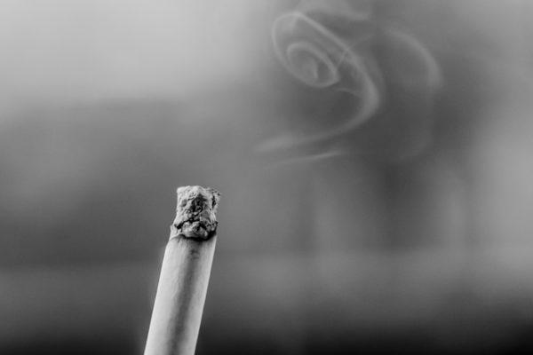 Stub out that cigarette